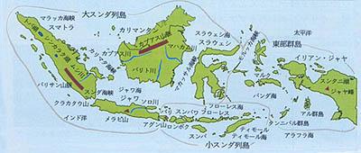 インドネシア地図 ジャランジャランインドネシア - インドネシアの国勢 ')); Ho